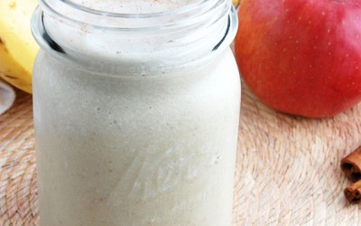 Mean Lean Apple Cinnamon Smoothie