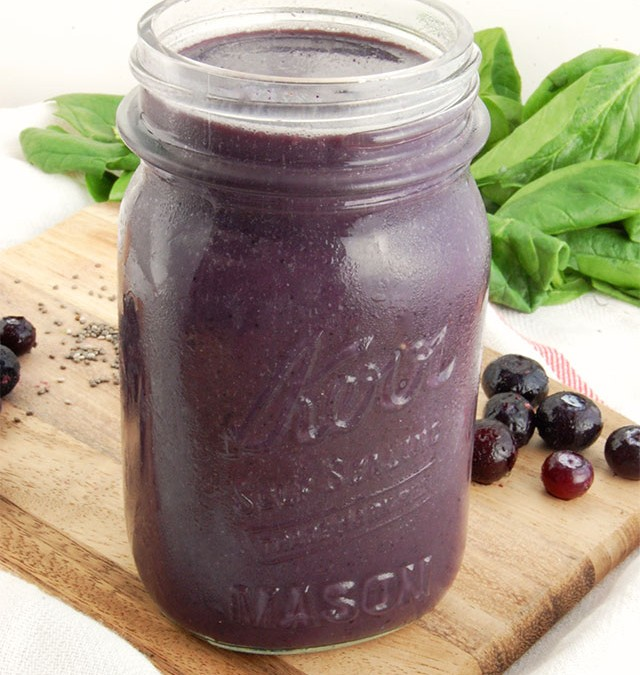 Blueberry Pineapple Metabolism Smoothie