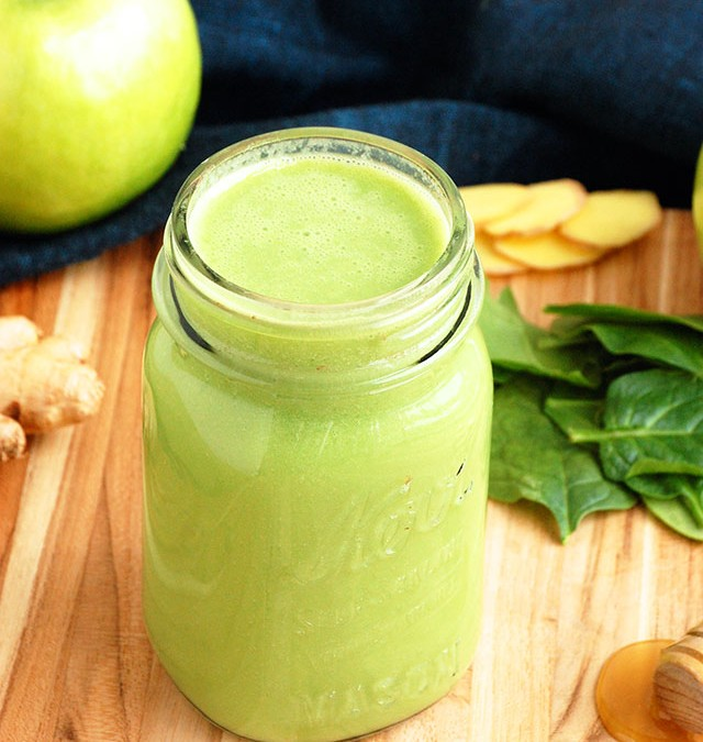 Green Apple Ginger Weight Loss Smoothie