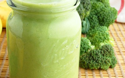 Whole 8 Green Broccoli Smoothie