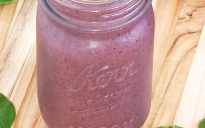 Big Berry Pre-Workout Smoothie